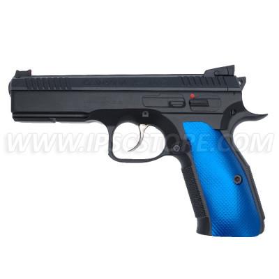 TONI SYSTEM GCZ3D Plaquettes Alu X3D GRIPS pour Pistolets CZ 75 SP-01, CZ SHADOW 2