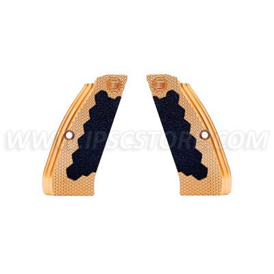 Eemann Tech Brass Long Grips for CZ 75, CZ 75 TS, CZ SHADOW 2
