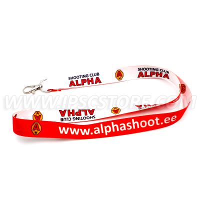 Alpha Shooting Club Lanyard