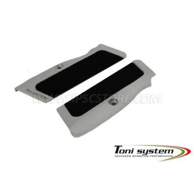 TONI SYSTEM GT21V for TANFOGLIO P21L grips for all calibre -Vibram Grip