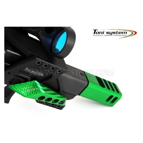 TONI SYSTEM AD3DDX Finger rest 3D, Right side, Left hand shooter