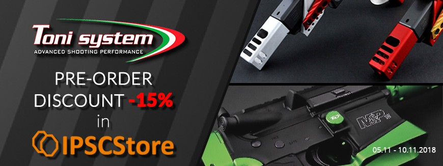 IPSCStore - TONI SYSTEM PRODUCTS discount - 5 days only!