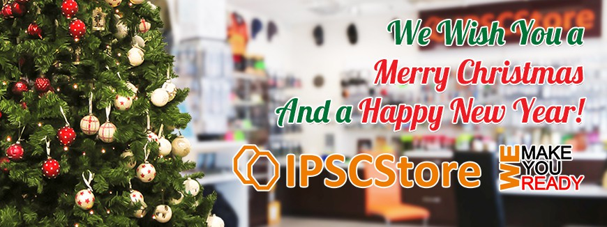 IPSCStore - Merry Christmas and Happy New Year 2019!