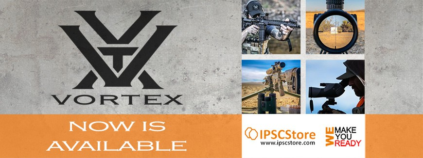 ALL VORTEX products are now AVAILABLE in IPSCStore