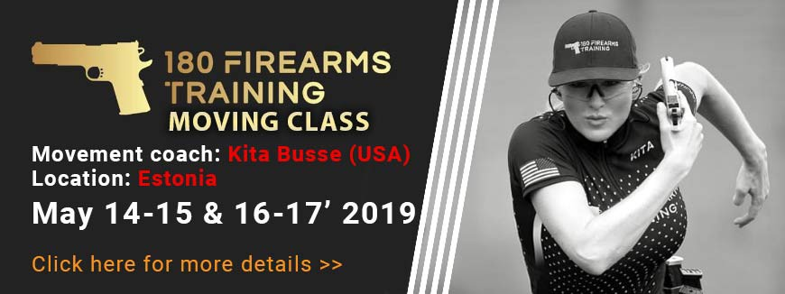 180 FIREARMS TRAINING MOVING CLASS!