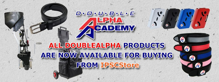 ALL DOUBLEALPHA products are now available for buying from IPSCStore.