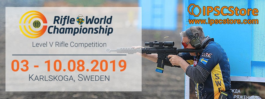 PICK UP FROM COMPETITION: RIFLE WORLD CHAMPIONSHIP 2019