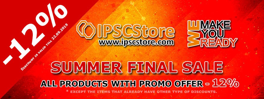 IPSCSTORE - SUMMER FINAL SALE - 12%